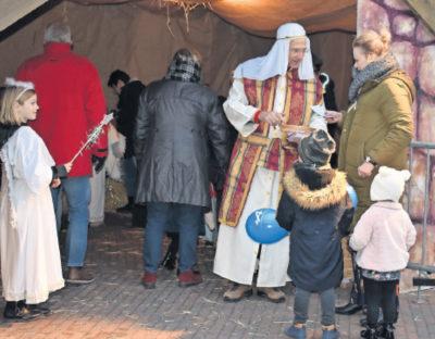 Kou kan de pret niet drukken bij sfeervolle kerstmarkt
