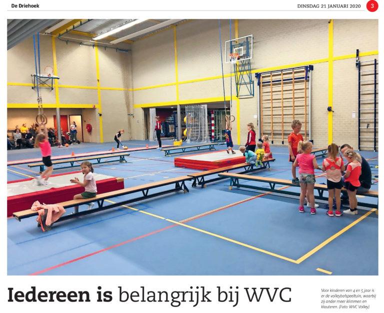 Iedereen is belangrijk bij WVC Volley