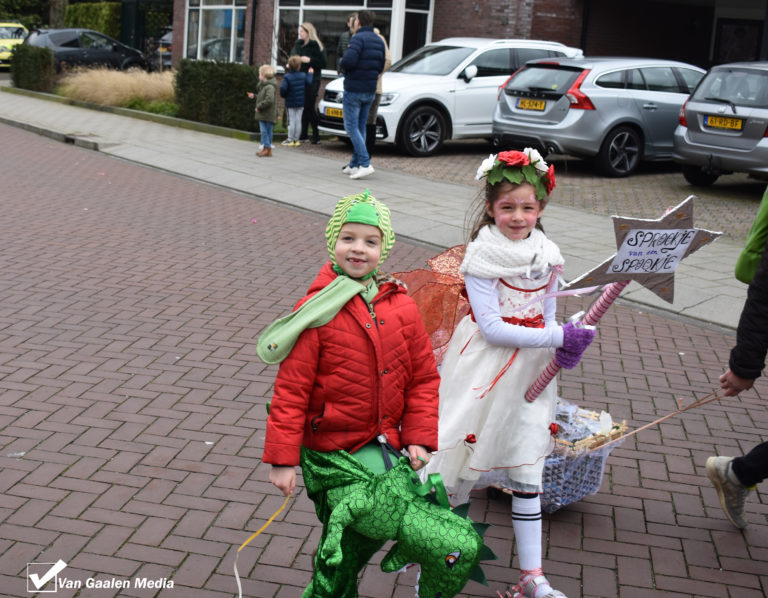 Centrum Wierden voor even kleurrijk carnavalstoneel