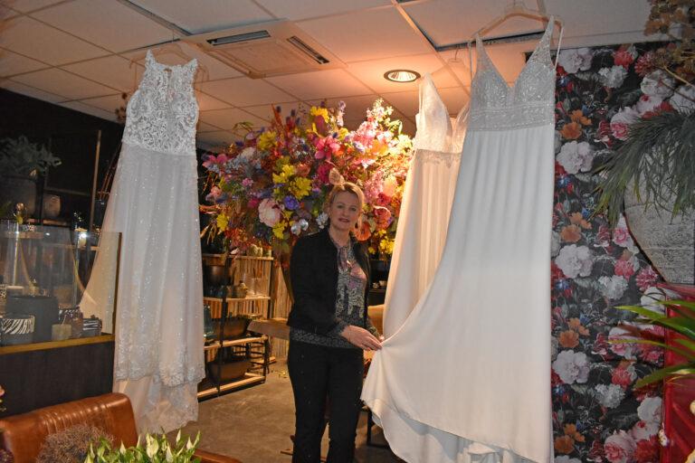 Brenda viert tienjarig bestaan bruidsboutique